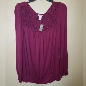 Cache long sleeved blouse